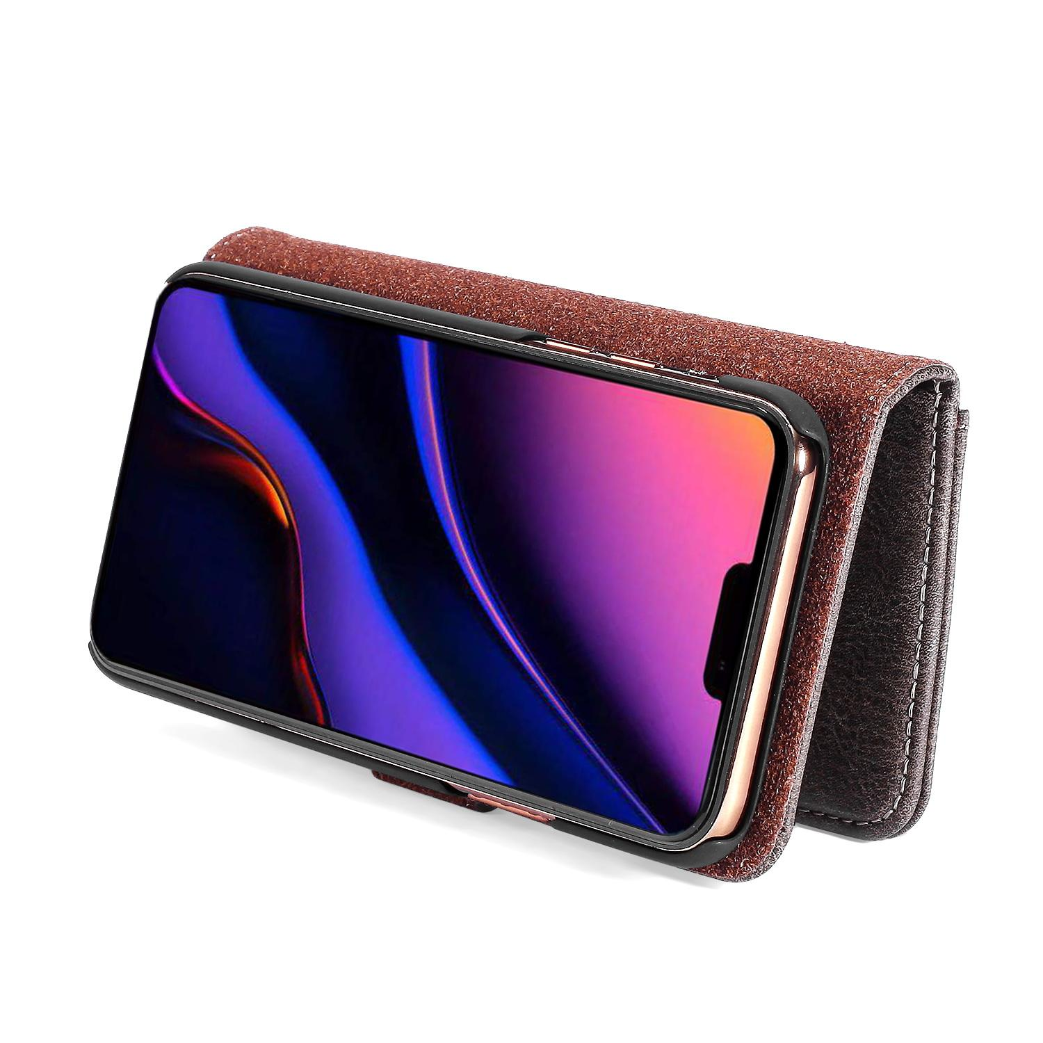 Magnet Wallet iPhone 11 Pro Max Brown