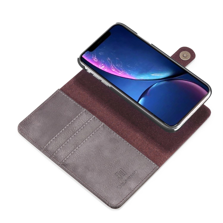Magnet Wallet iPhone 11 Brown