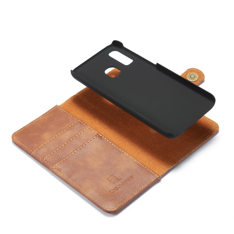 Magnet Wallet Samsung Galaxy A40 Cognac