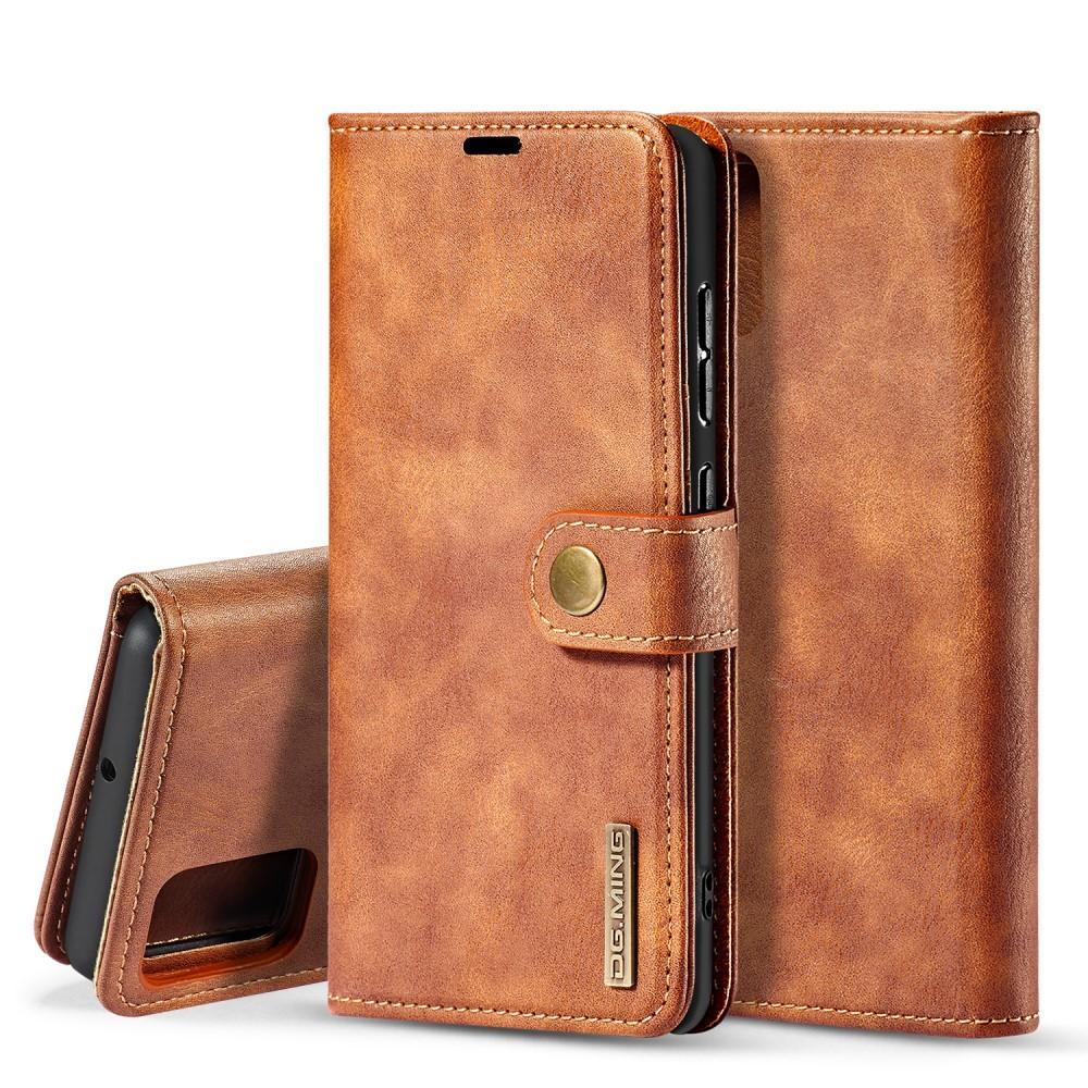 Magnet Wallet Samsung Galaxy A71 Cognac