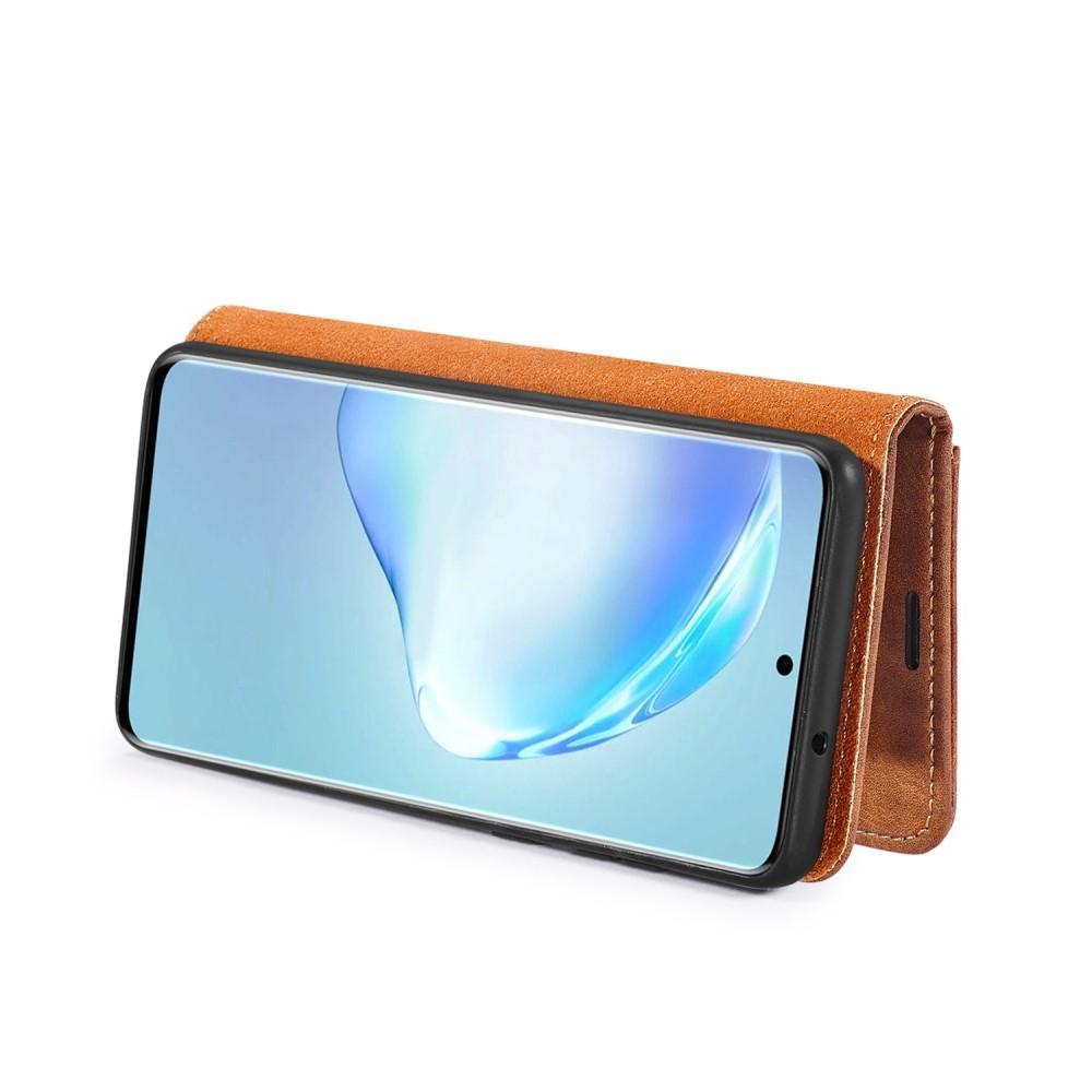 Magnet Wallet Samsung Galaxy S20 Cognac