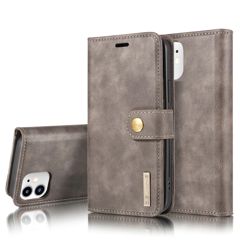 Magnet Wallet iPhone 12 Mini Brown