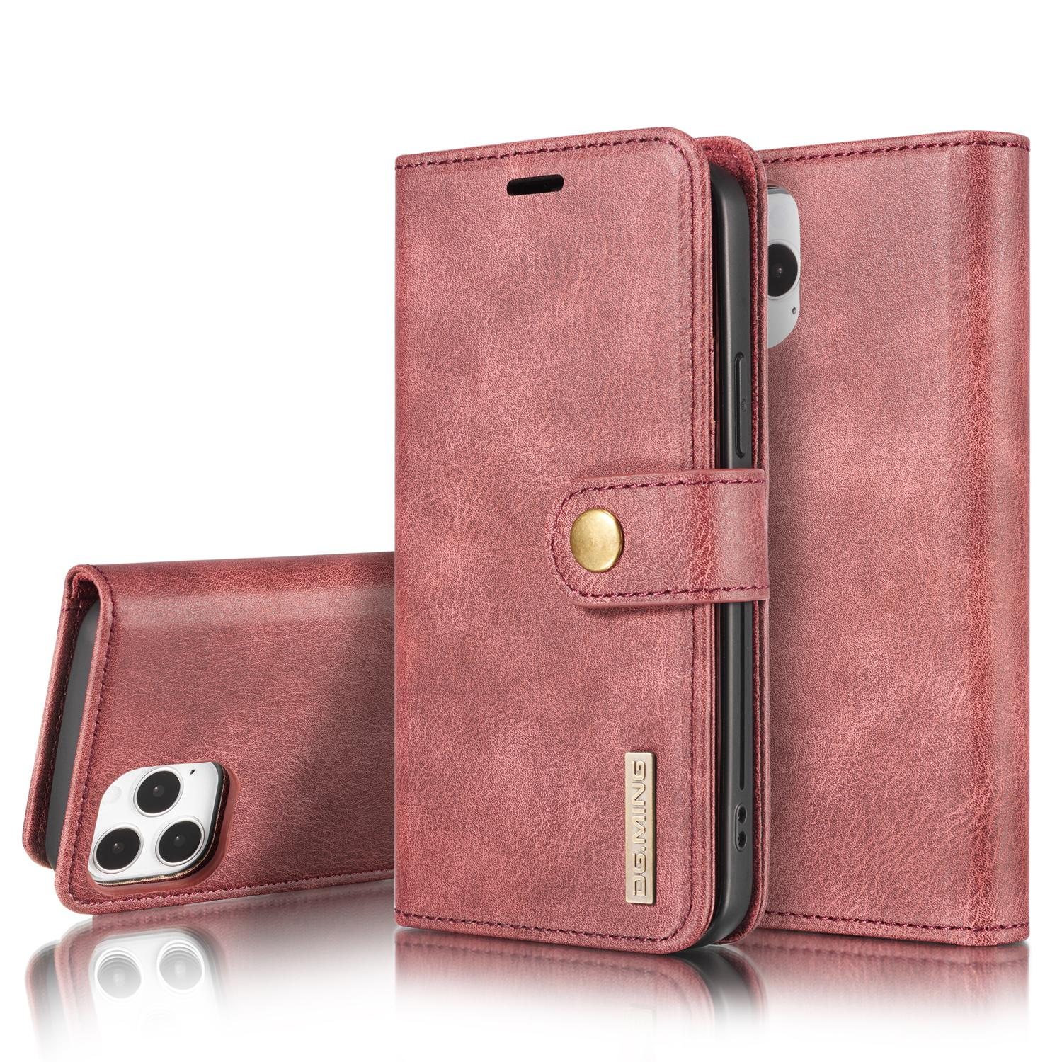 Magnet Wallet iPhone 12 Pro Max Red