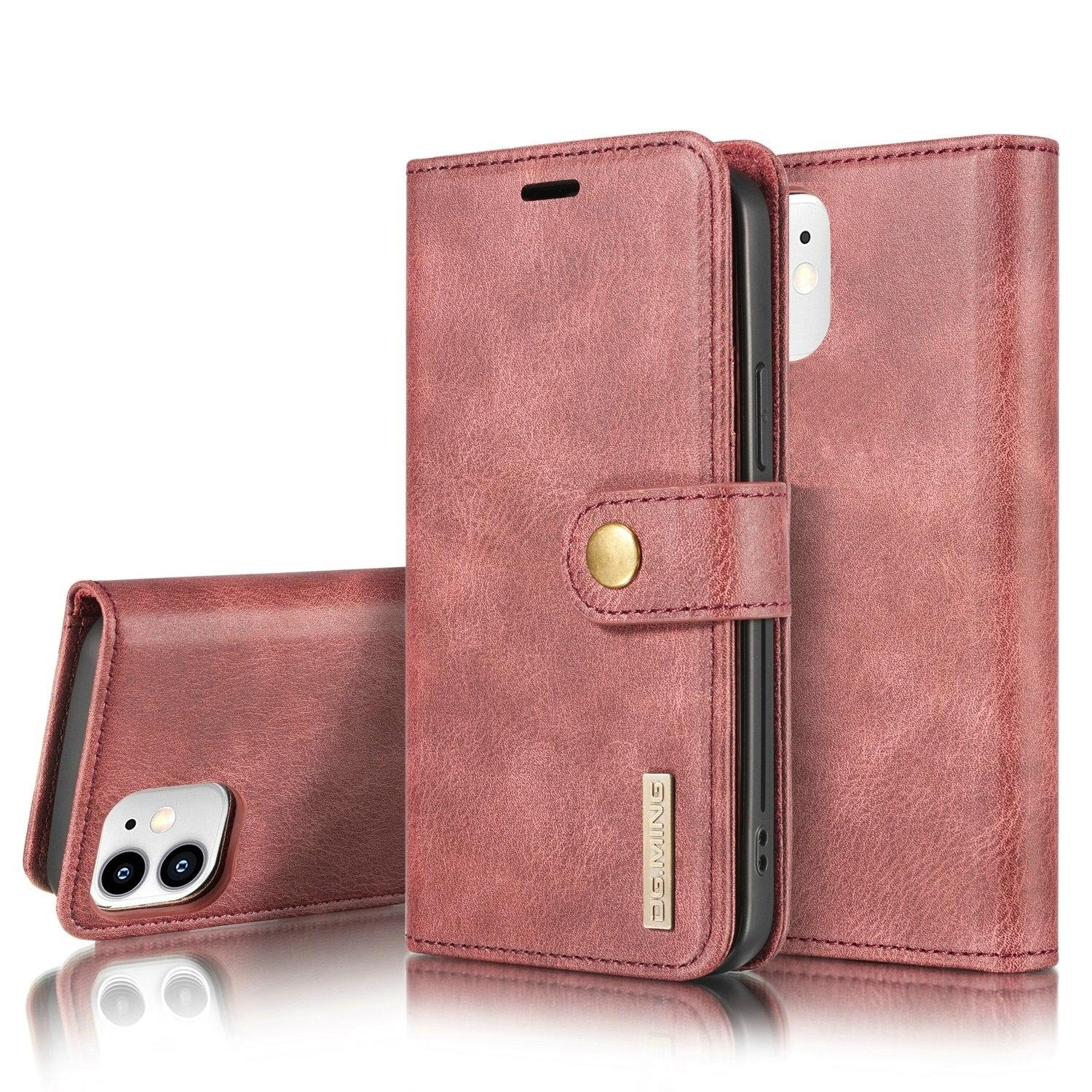 Magnet Wallet iPhone 12 Mini Red