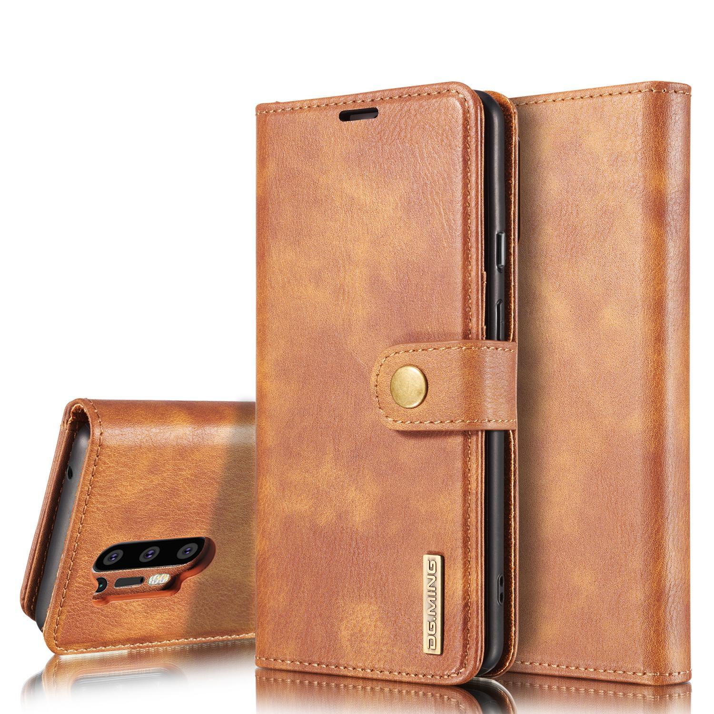Magnet Wallet OnePlus 8 Pro Cognac