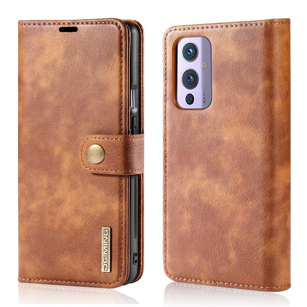 Magnet Wallet OnePlus 9 Cognac
