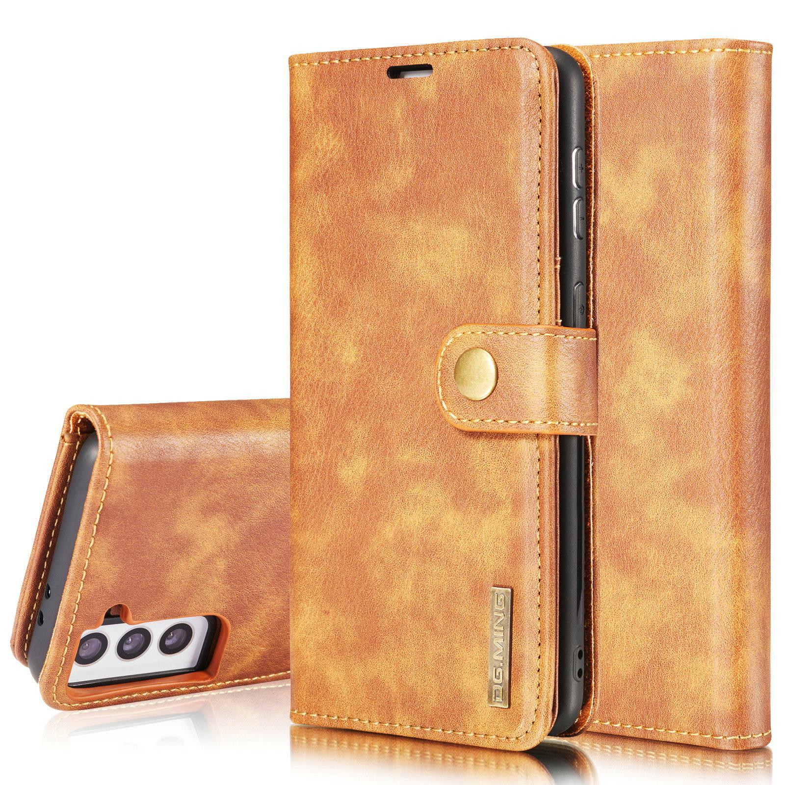 Magnet Wallet Samsung Galaxy S21 Plus Cognac
