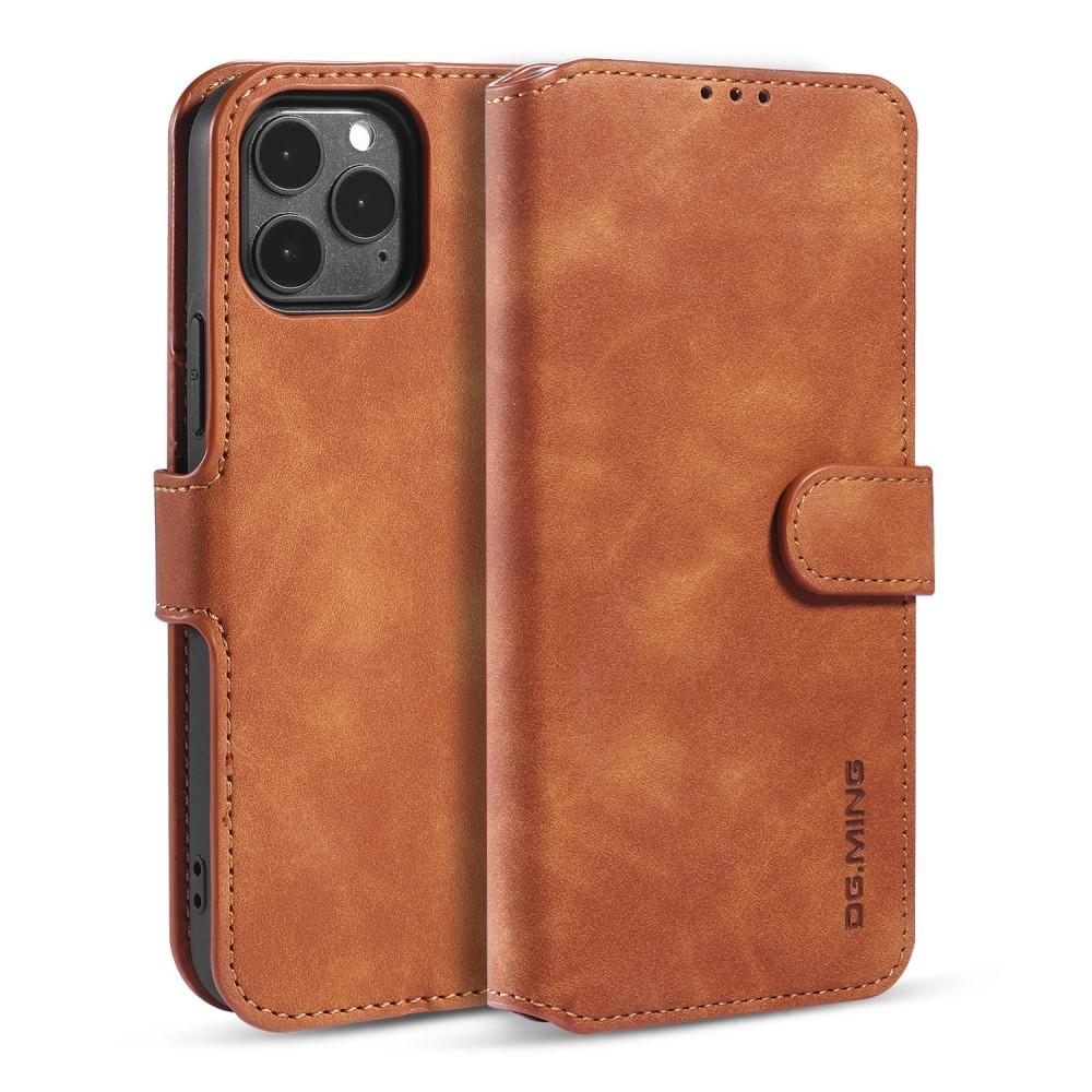 Wallet Case iPhone 12/12 Pro Cognac