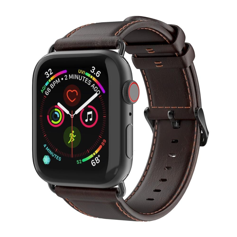 Leather Armband Apple Watch 38/40/41 mm Brown