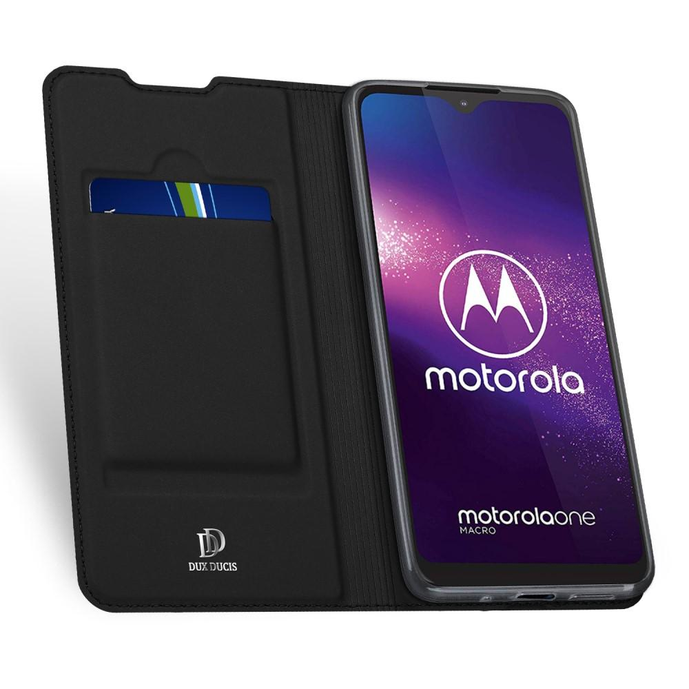 Skin Pro Series Case Motorola One Macro - Black