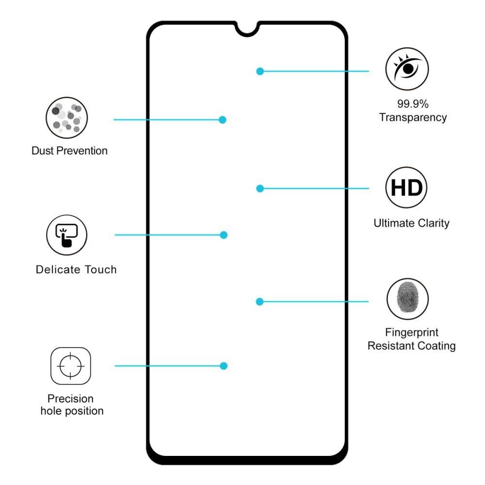 Full Glue Tempered Glass Galaxy A70 Black