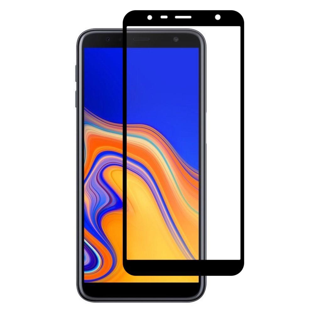 Full Glue Tempered Glass Galaxy J4 Plus 2018 Black