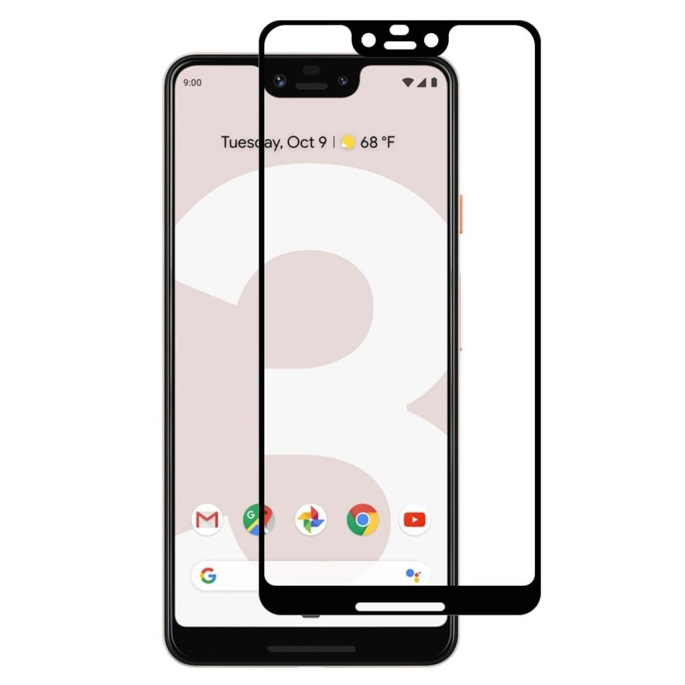 Full Glue Tempered Glass Google Pixel 3 XL Black