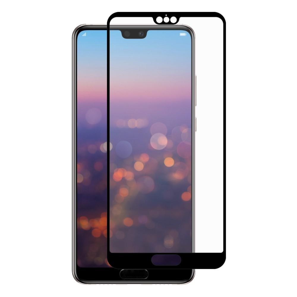 Full Glue Tempered Glass Huawei P20 Pro Black