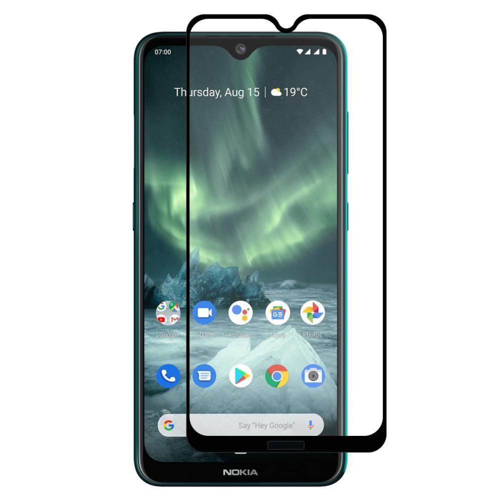 Full Glue Tempered Glass Nokia 6.2/7.2 Black
