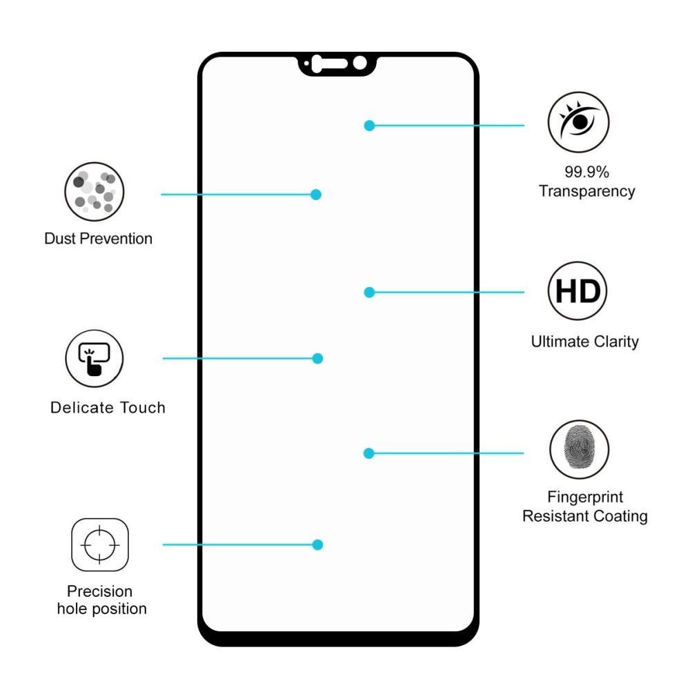 Full Glue Tempered Glass OnePlus 6 Black