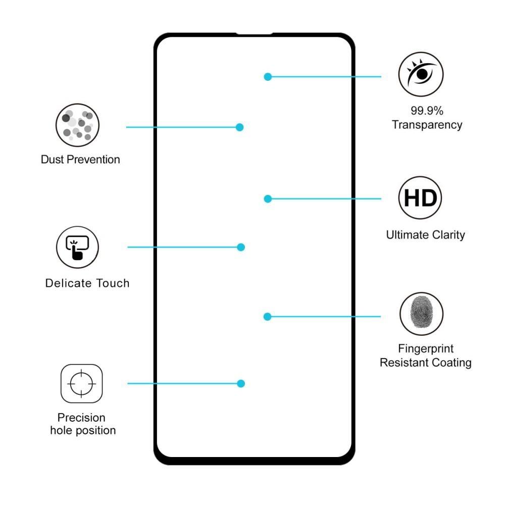 Full Glue Tempered Glass Xiaomi Mi 9T/9T Pro Black