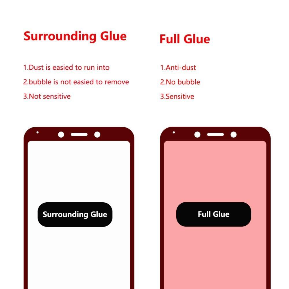 Full Glue Tempered Glass Xiaomi Redmi 6/6A Black