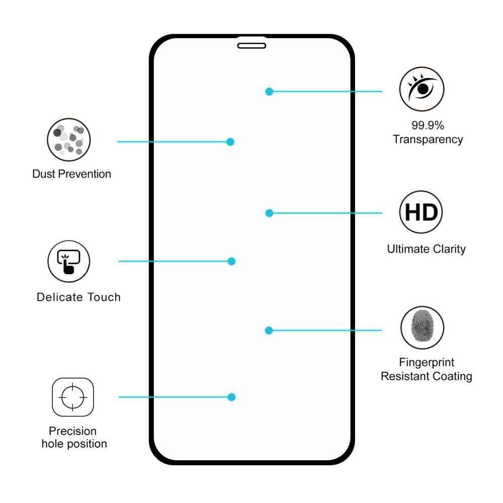 Full Glue Tempered Glass iPhone XR/11 Black
