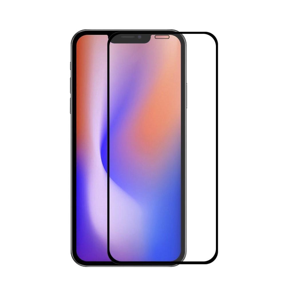 Full Glue Tempered Glass iPhone 12 Pro Max Black