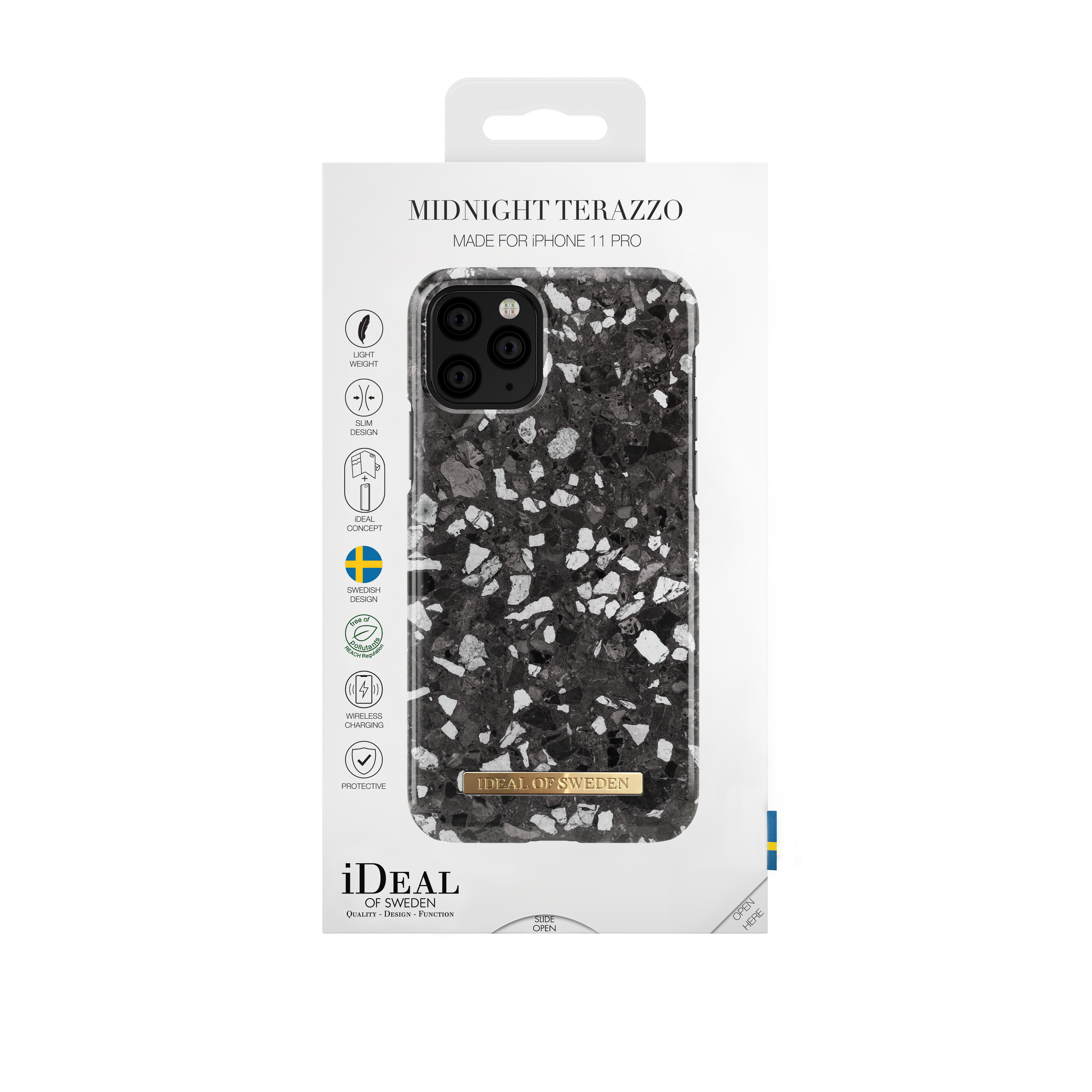Fashion Case iPhone 11 Pro Midnight Terazzo