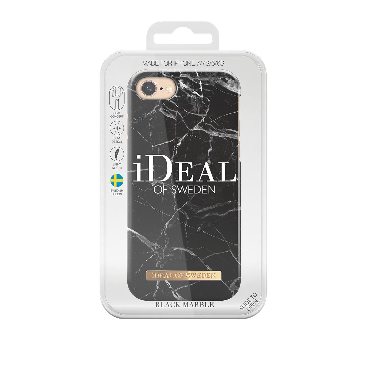 Fashion Case iPhone 6/6S/7/8/SE 2020 Black Marble