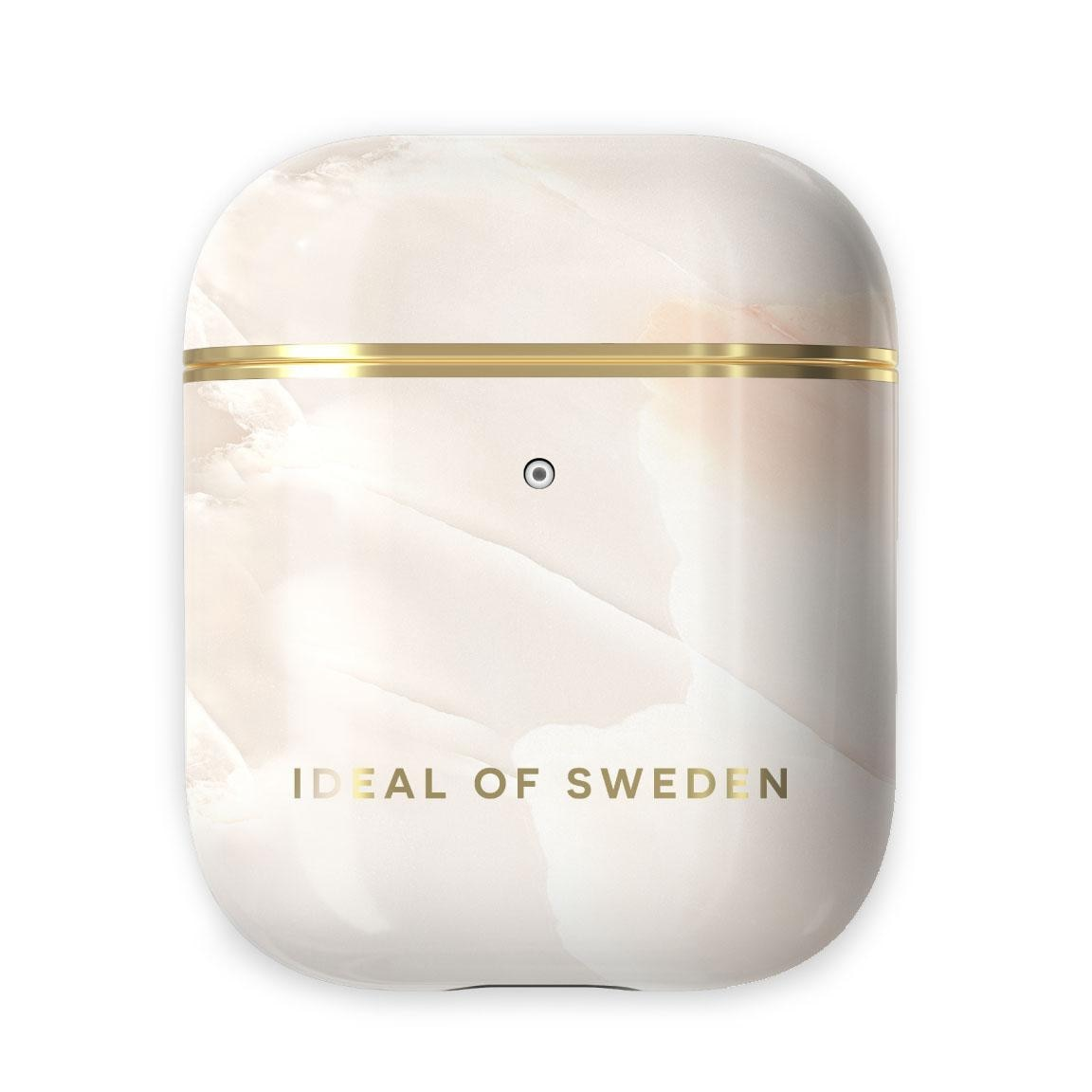 Fashion Case Apple AirPods Rose Pearl Marble