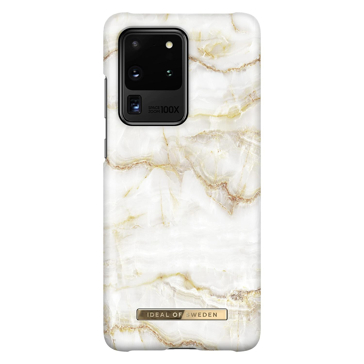 Fashion Case Galaxy S20 Ultra Golden Pearl Marble