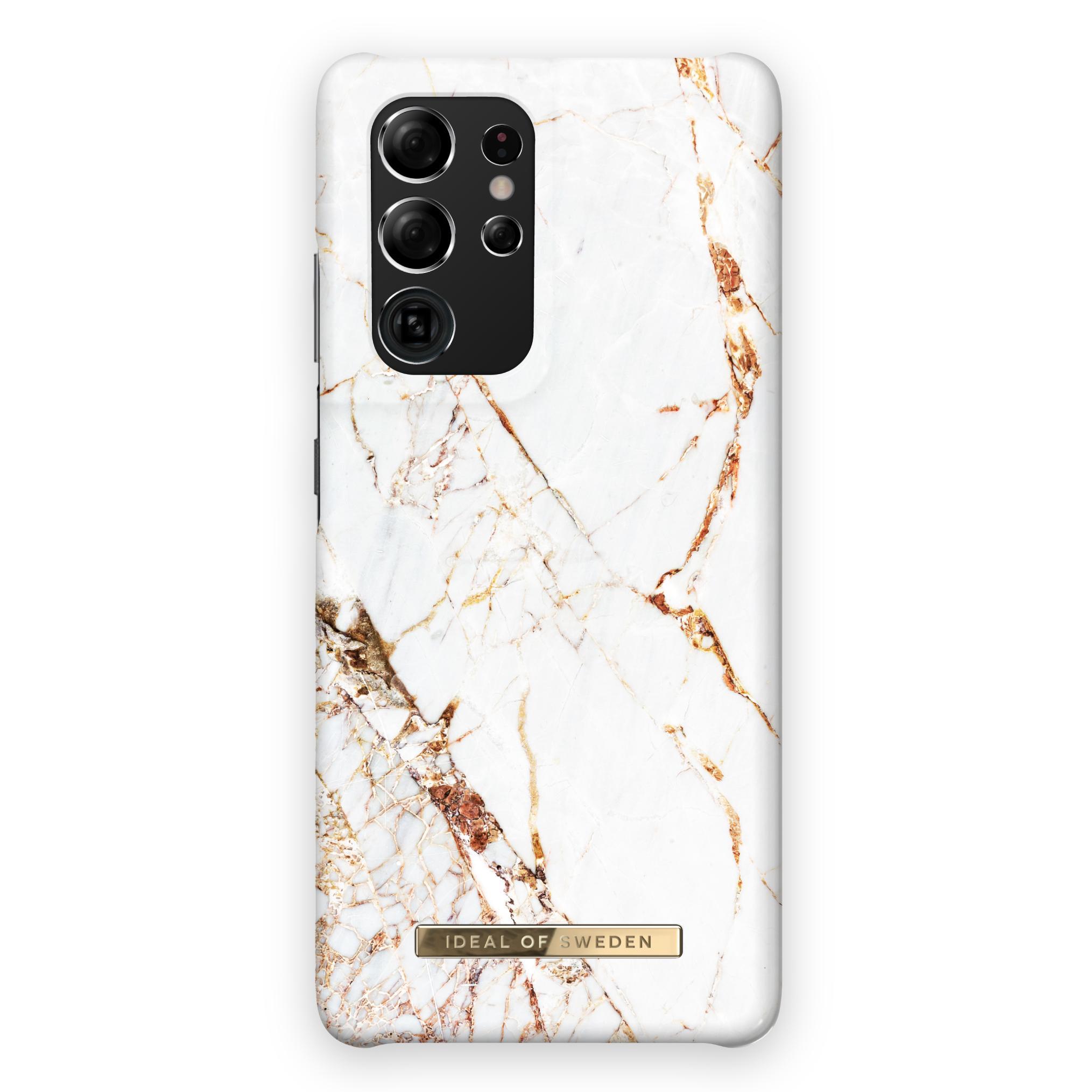 Fashion Case Galaxy S21 Ultra Carrara Gold