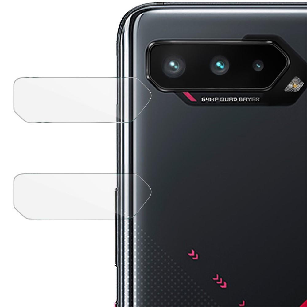 2-pack Panssarilasi Kameran Linssinsuoja Asus ROG Phone 5