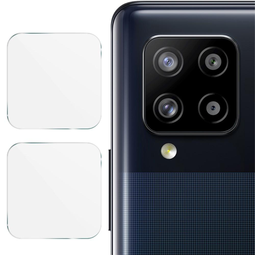 2-pack Panssarilasi Kameran Linssinsuoja Galaxy A12/A42 5G