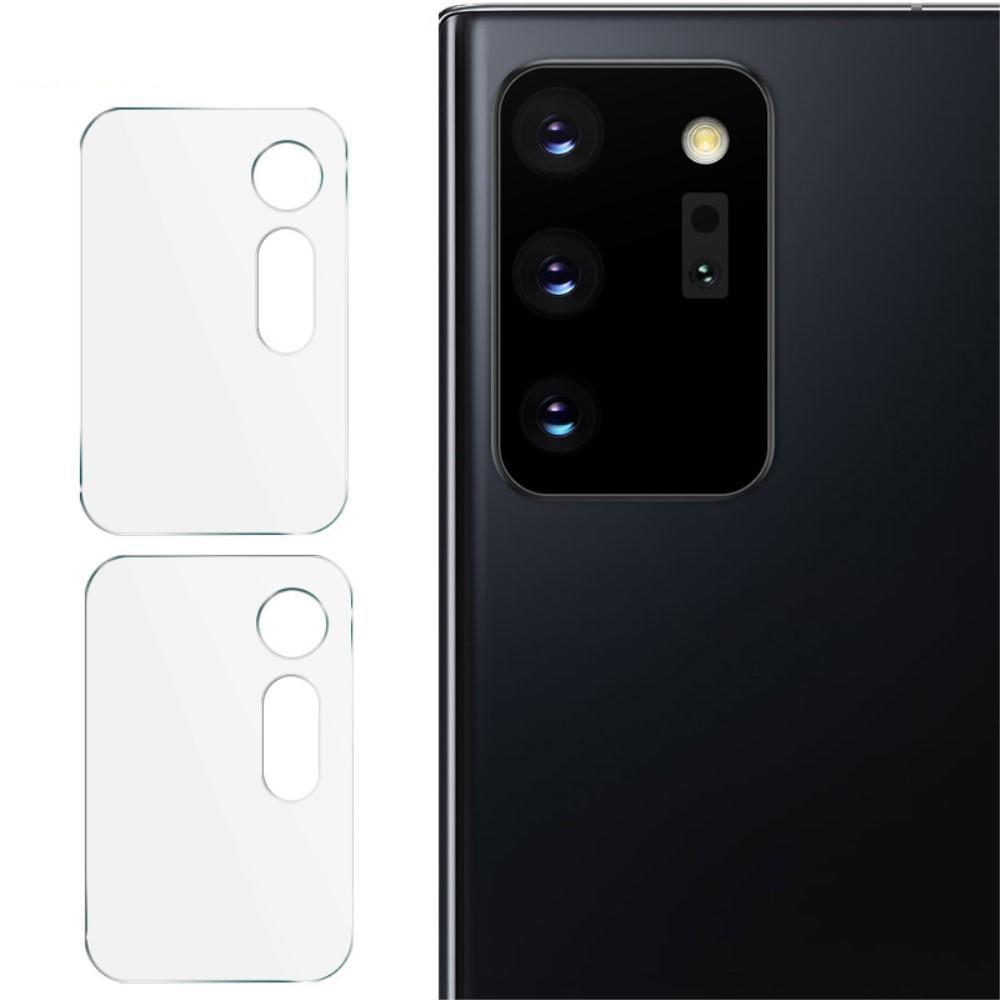 2-pack Panssarilasi Kameran Linssinsuoja Galaxy Note 20 Ultra