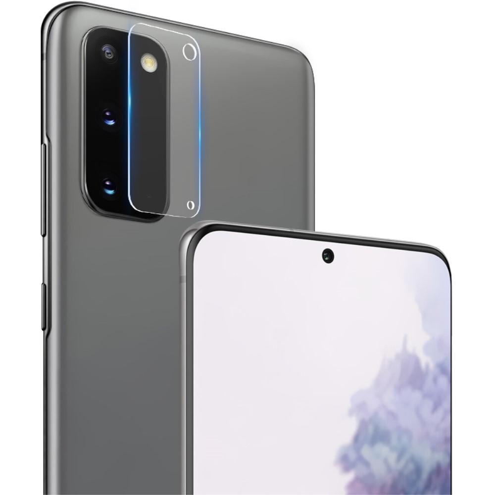 2-pack Panssarilasi Kameran Linssinsuoja Galaxy S20