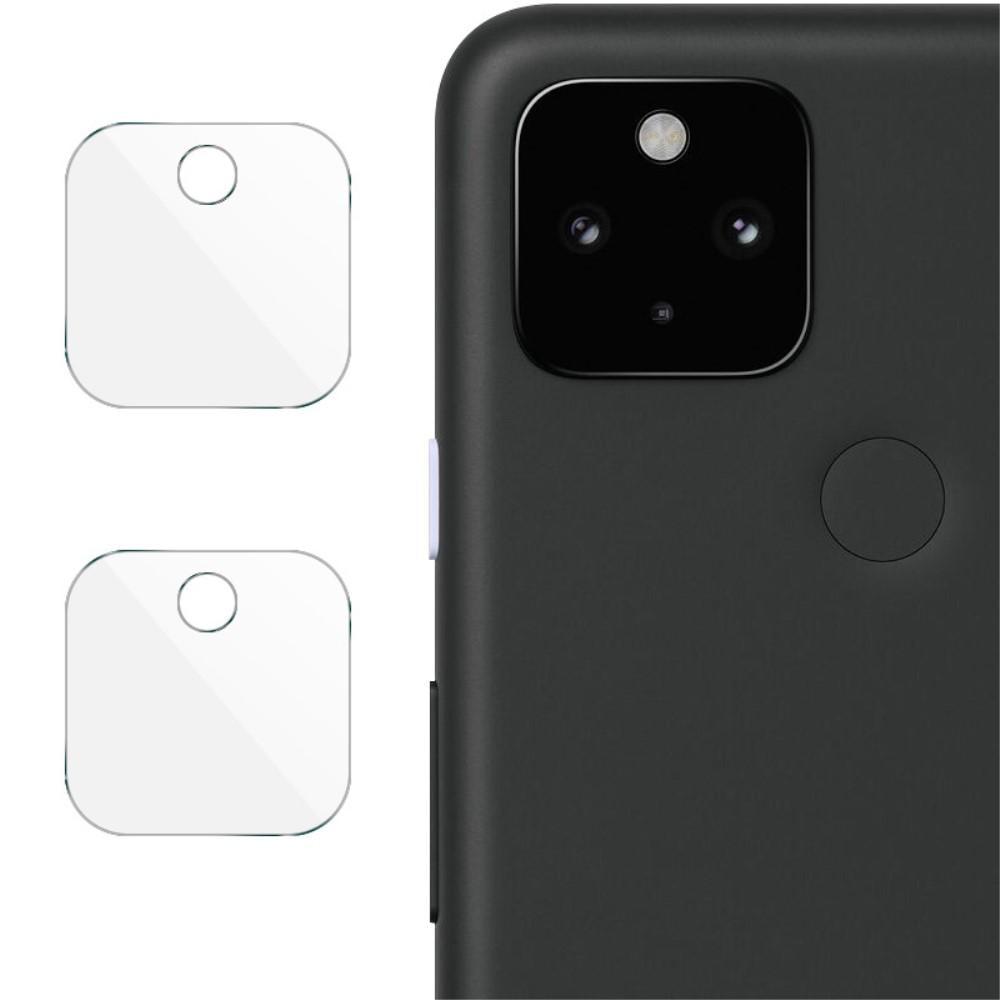 2-pack Panssarilasi Kameran Linssinsuoja Google Pixel 5
