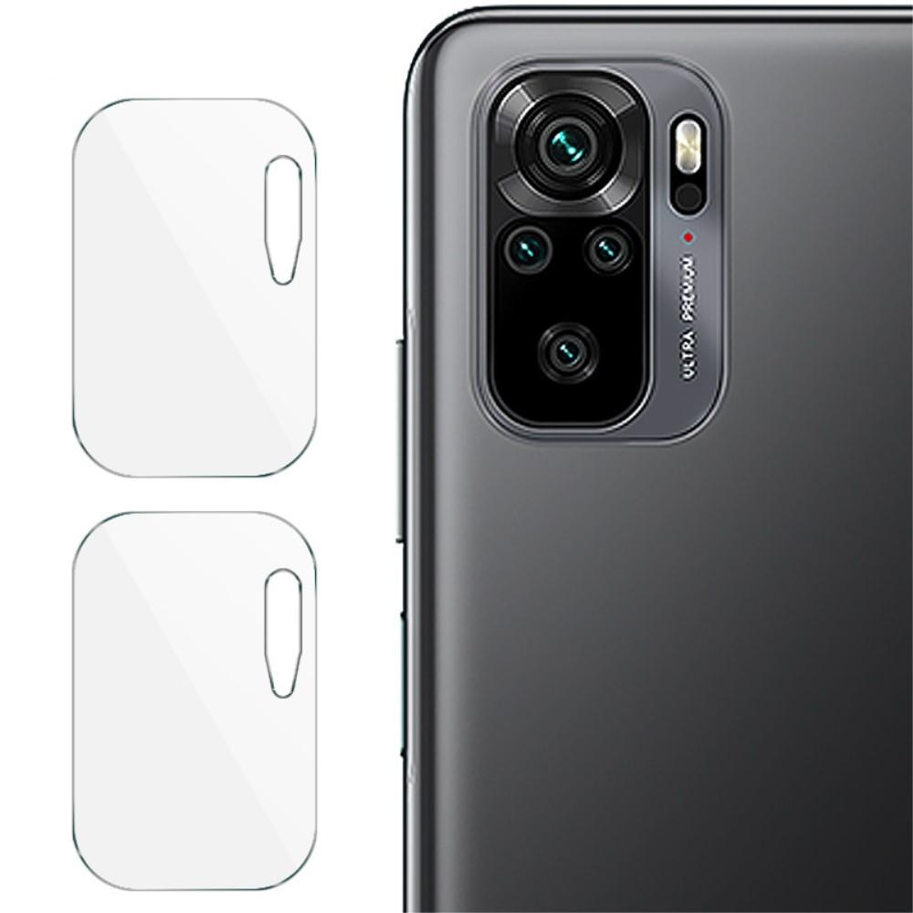 2-pack Panssarilasi Kameran Linssinsuoja Redmi Note 10