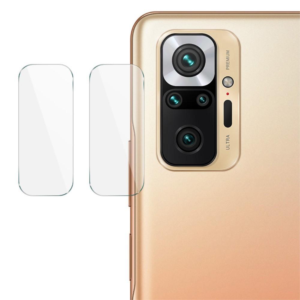 2-pack Panssarilasi Kameran Linssinsuoja Redmi Note 10 Pro