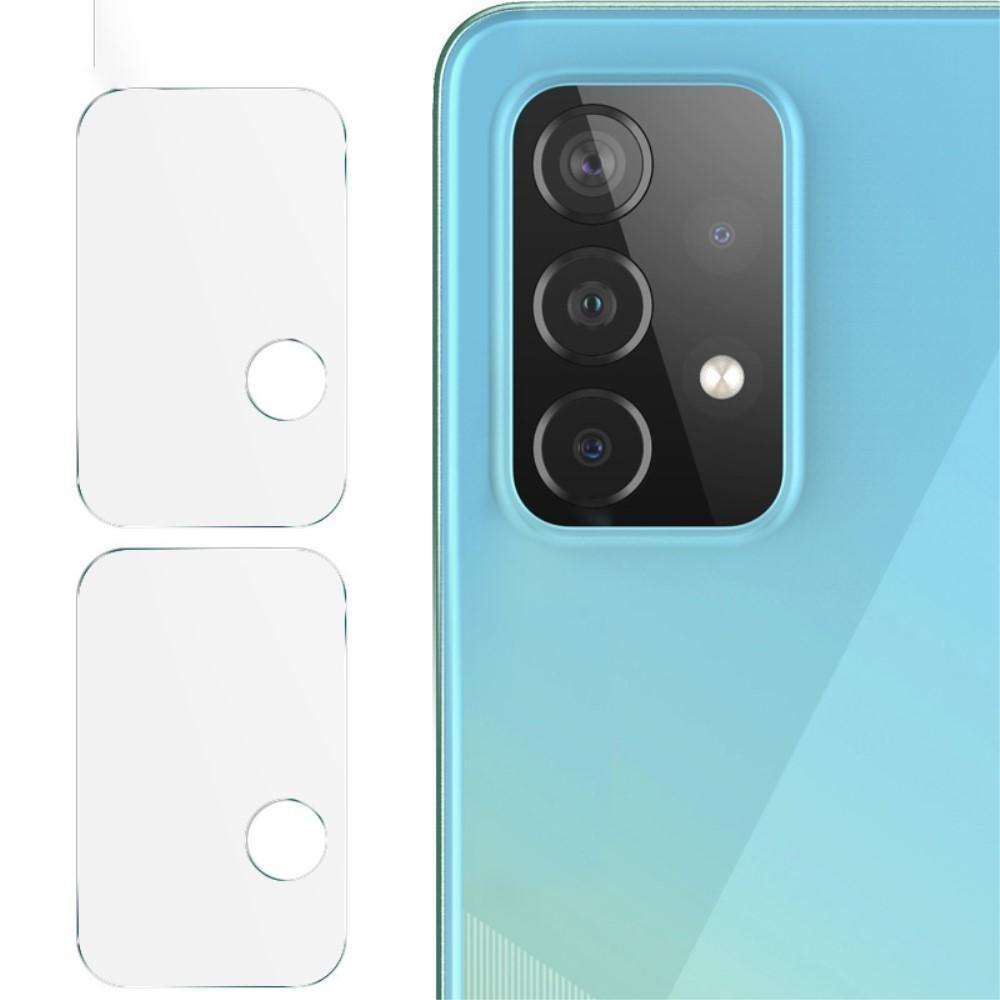 2-pack Panssarilasi Kameran Linssinsuoja Samsung Galaxy A52 5G/A72 5G