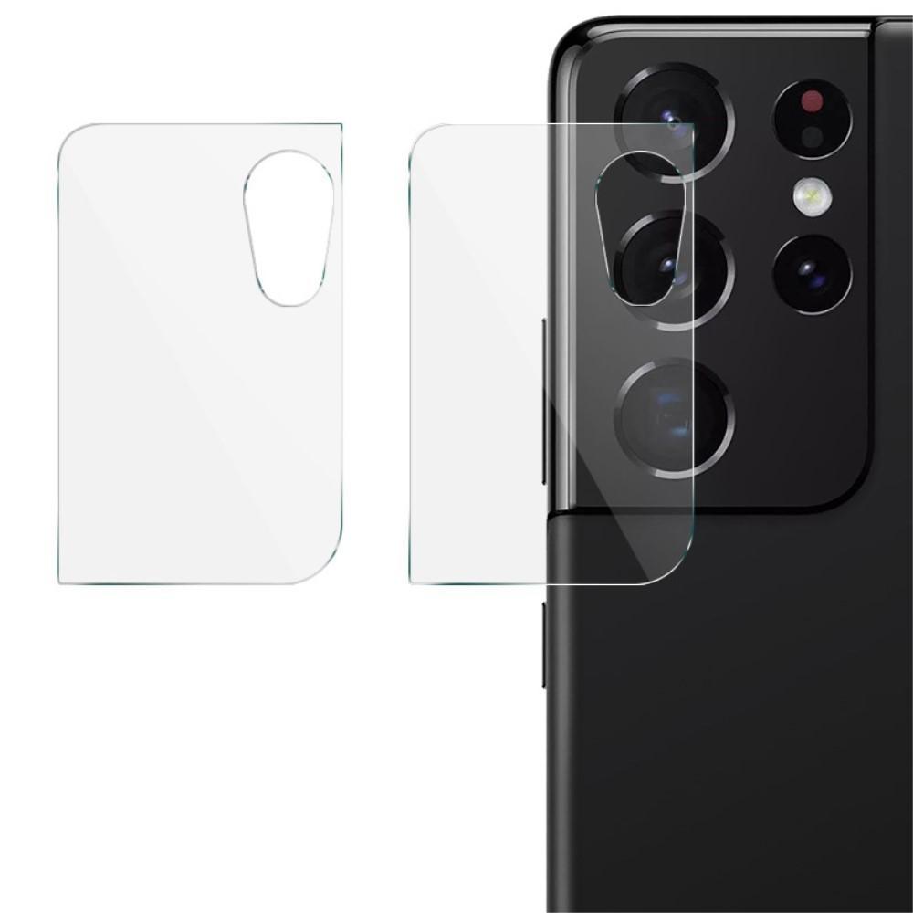 2-pack Panssarilasi Kameran Linssinsuoja Samsung Galaxy S21