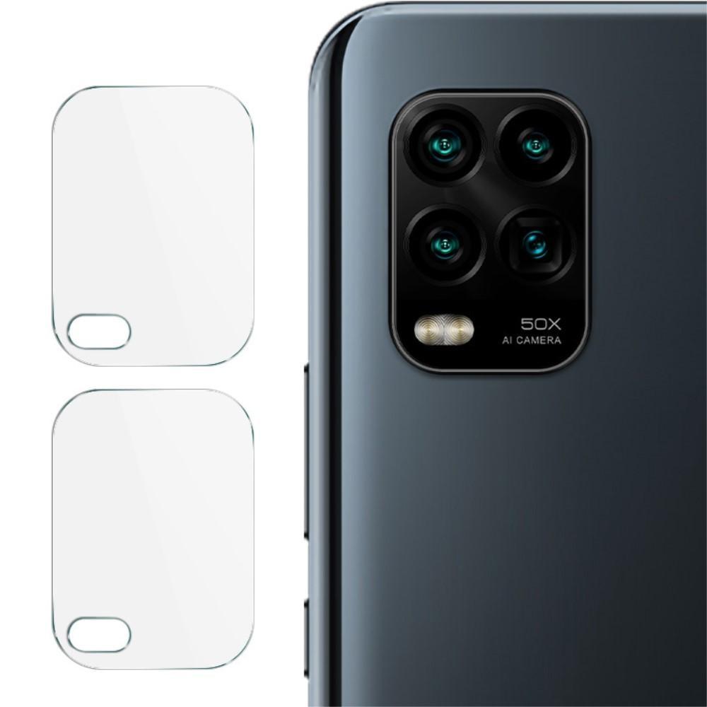 2-pack Panssarilasi Kameran Linssinsuoja Xiaomi Mi 10 Lite