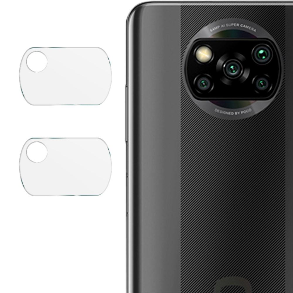 2-pack Panssarilasi Kameran Linssinsuoja Poco X3 NFC