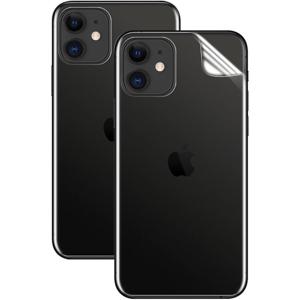 2-Pack Hydrogel Back Film iPhone 11