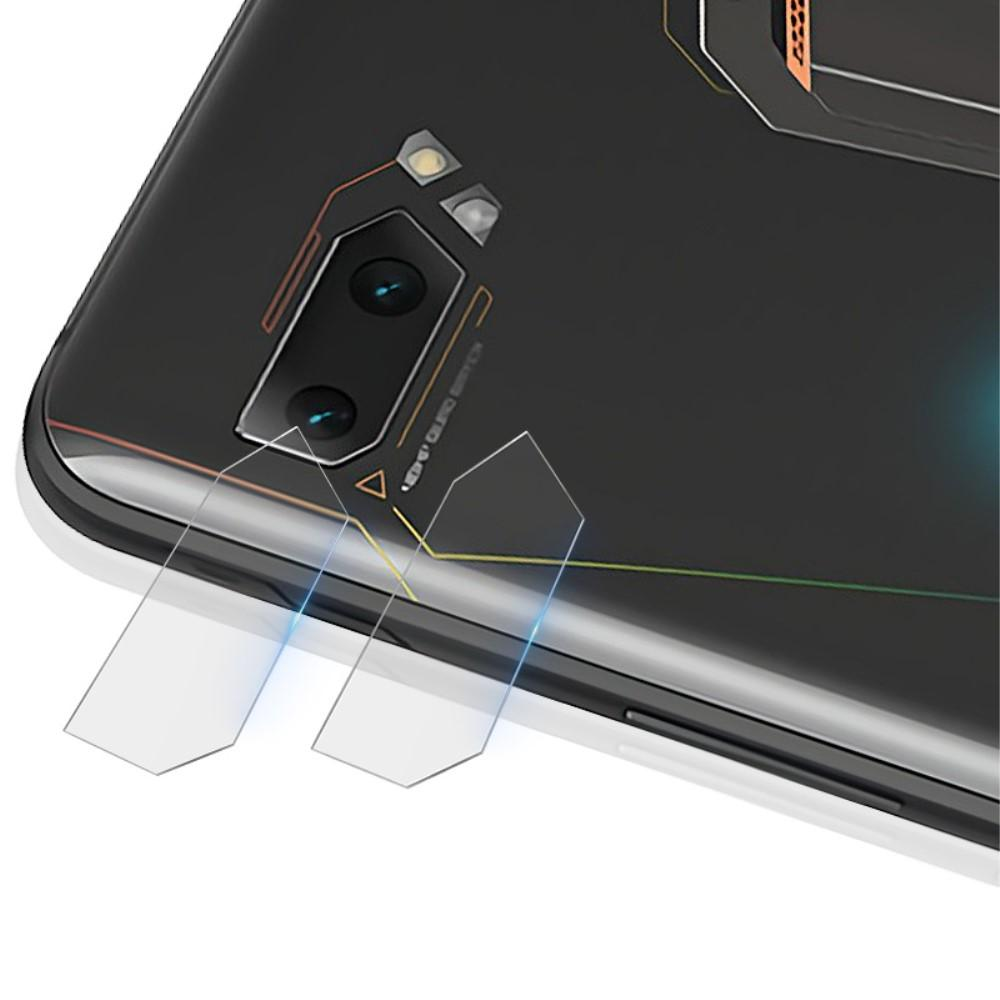 2-pack Panssarilasi Kameran Linssinsuoja Asus ROG Phone II