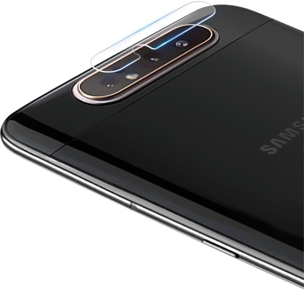 2-pack Panssarilasi Kameran Linssinsuoja Galaxy A80