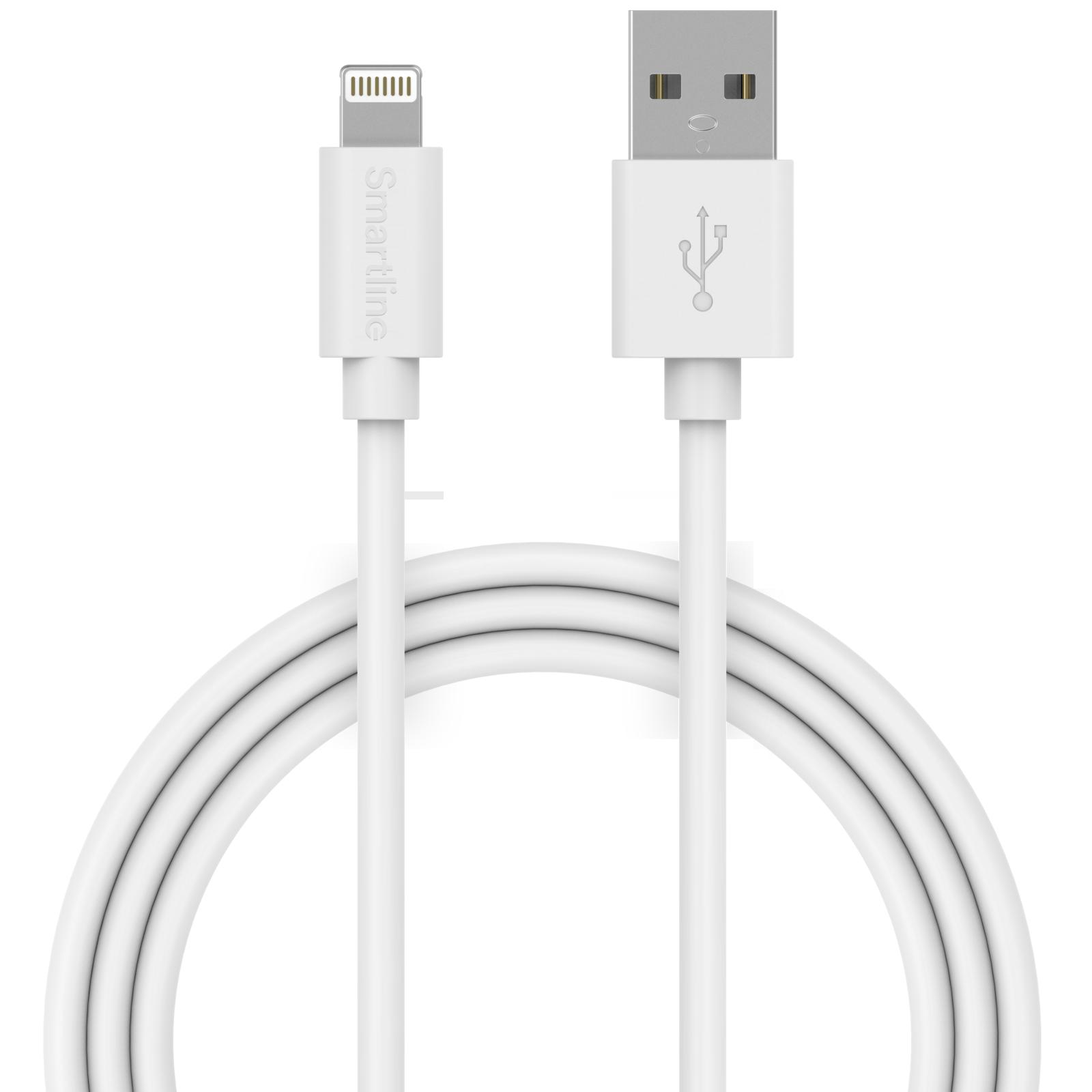 USB Cable Lightning 3m valkoinen