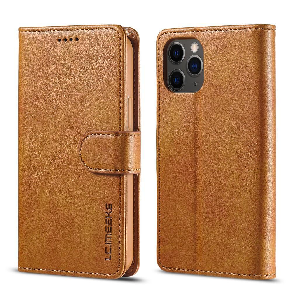 Lompakkokotelot iPhone 12/12 Pro cognac