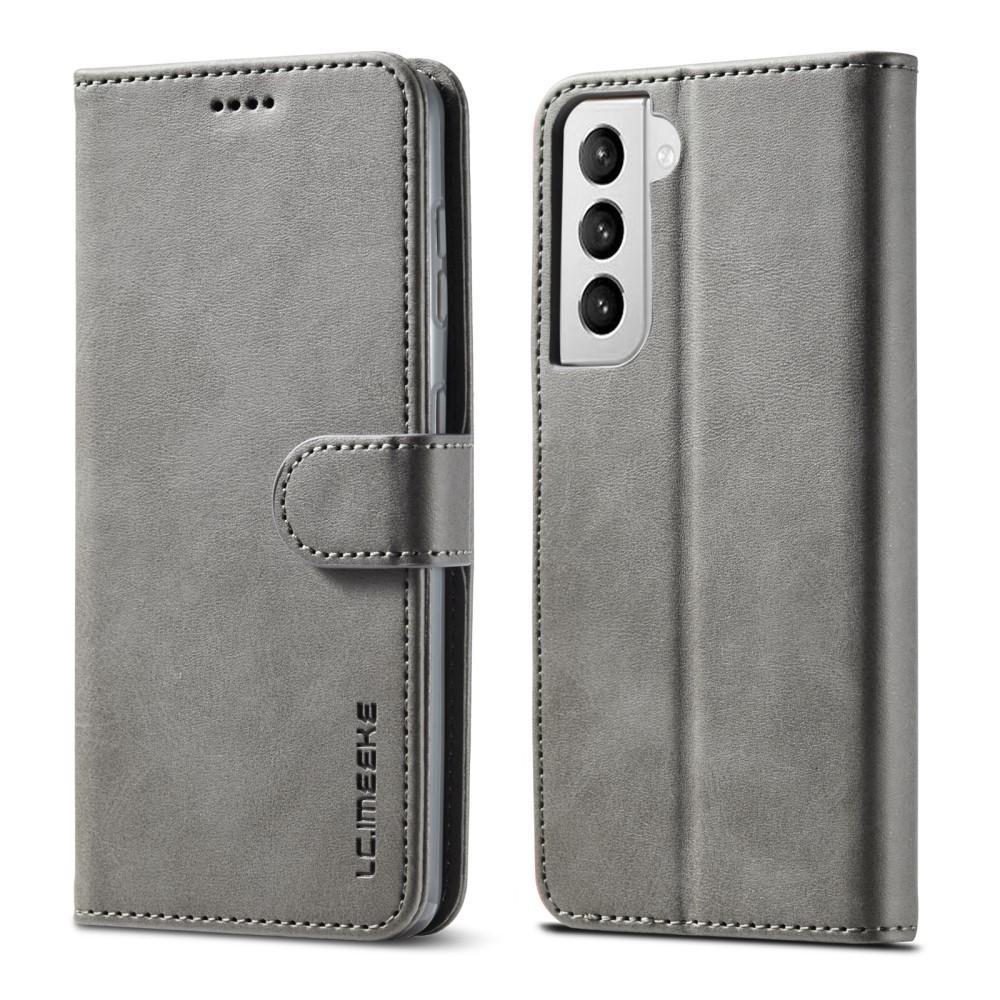 Lompakkokotelot Samsung Galaxy S21 harmaa