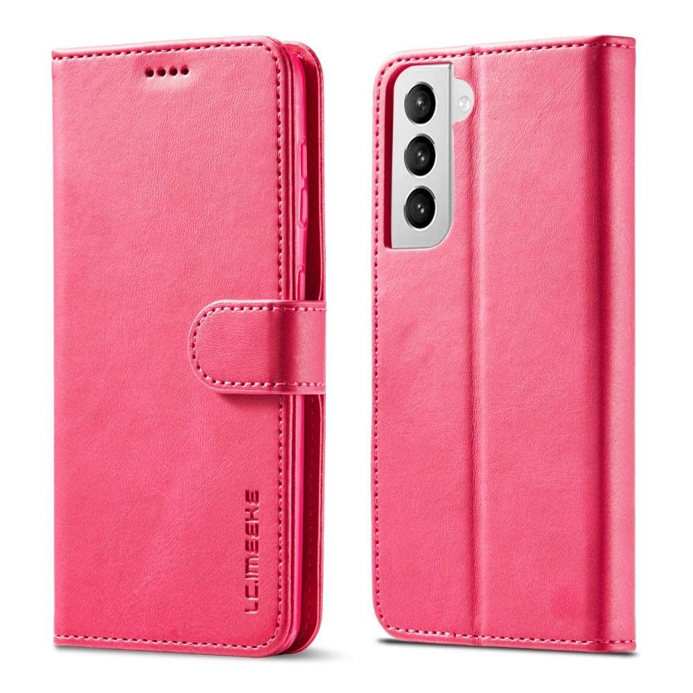 Lompakkokotelot Samsung Galaxy S21 vaaleanpunainen