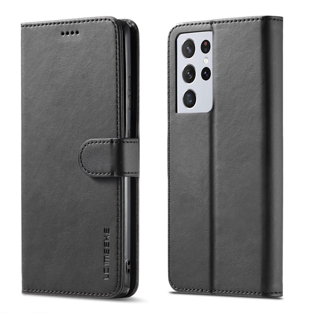Lompakkokotelot Samsung Galaxy S21 Ultra musta