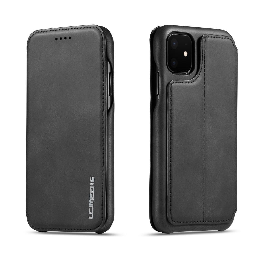 Slim Lompakkokotelot iPhone 11 musta