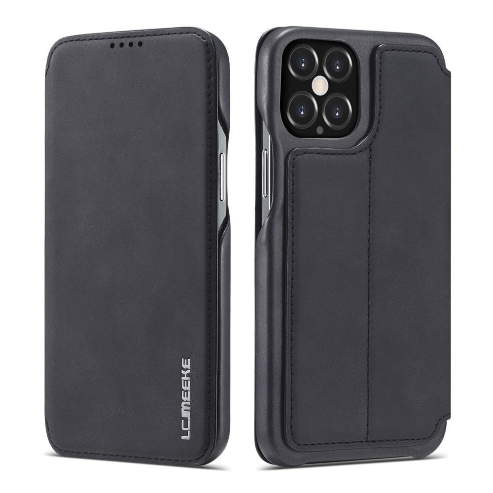 Slim Lompakkokotelot iPhone 12/12 Pro musta